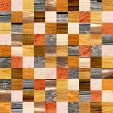Fondo senza cuciture con i modelli di legno Fotografia Stock