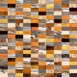 Fondo senza cuciture con i modelli di legno Fotografia Stock Libera da Diritti