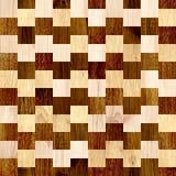 Fondo senza cuciture con i modelli di legno Immagini Stock