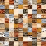 Fondo senza cuciture con i modelli di legno Immagine Stock