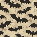 Fondo senza cuciture con i pipistrelli Illustrazione di vettore illustrazione di stock