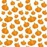Fondo senza cuciture con le zucche per il giorno di ringraziamento Royalty Illustrazione gratis