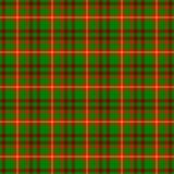 Fondo senza cuciture controllato di struttura del modello del tessuto scozzese del kilt del plaid di tartan - co verde, luminoso  Fotografia Stock