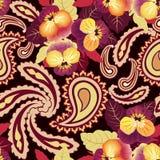 Fondo senza cuciture del fiore. Struttura astratta del giglio del fiore dell'ornamento. royalty illustrazione gratis
