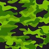 Fondo senza cuciture del modello del cammuffamento verde Stampa di mascheramento di ripetizione di camo di stile classico dell'ab Immagine Stock Libera da Diritti