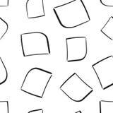 Fondo senza cuciture del modello dei quadrati della scatola disegnata a mano della struttura Busine Fotografie Stock Libere da Diritti