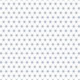 Fondo senza cuciture del modello dell'illustrazione di Mesh Fence Stars Pattern Fabric illustrazione vettoriale