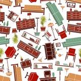 Poltrone stilizzate illustrazione di stock immagine di for Mobilia domestica