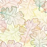 Fondo senza cuciture del modello delle foglie di autunno. Royalty Illustrazione gratis