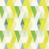 Fondo senza cuciture del retro modello del triangolo Illustrazione Vettoriale
