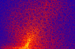 Fondo senza cuciture dell'estratto del reticolo della rete del crepitare (di alta risoluzione) Fotografia Stock