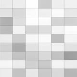 Fondo senza cuciture dell'estratto grigio delle mattonelle per progettazione del contesto immagini stock