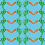 Fondo senza cuciture delle carote royalty illustrazione gratis
