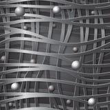 Fondo senza cuciture delle linee, illustrazione di creatività 3D di progettazione di vettore illustrazione vettoriale
