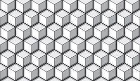 Fondo senza cuciture delle mattonelle del cubo Immagine Stock