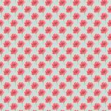 Fondo senza cuciture di acqua del fiore sfocato di colore illustrazione di stock