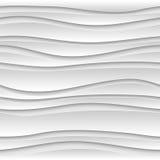 Fondo senza cuciture di bianco dell'estratto 3D Fotografie Stock