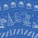 Fondo senza cuciture di Natale illustrazione vettoriale