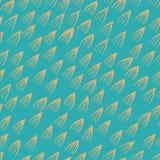 Fondo senza cuciture di progettazione del modello dell'acquerello astratto del segno illustrazione vettoriale