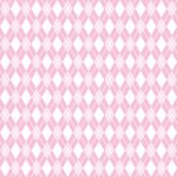 Fondo senza cuciture di rosa del argyle, modello del argyle, illustrazione di vettore Fotografie Stock