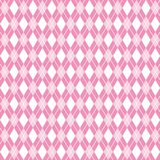 Fondo senza cuciture di rosa del argyle, modello del argyle, illustrazione di vettore Fotografia Stock Libera da Diritti