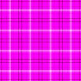 Fondo senza cuciture di struttura del modello del tessuto scozzese del plaid di tartan del diamante - colore porpora e bianco cal Fotografia Stock