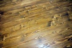 Fondo senza cuciture di struttura del pavimento di parquet del laminato della quercia Fotografia Stock Libera da Diritti