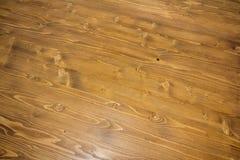 Fondo senza cuciture di struttura del pavimento di parquet del laminato della quercia Fotografia Stock