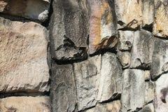 Fondo senza cuciture di struttura della parete di pietra immagine stock