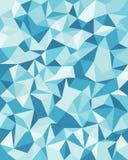 Fondo senza cuciture di vettore dalle cellule, triangoli Immagine Stock