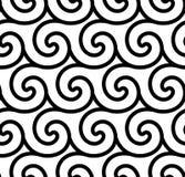 Fondo senza cuciture di vettore a spirale astratto Fotografia Stock Libera da Diritti