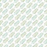 Fondo senza cuciture diagonale con le foglie Fotografie Stock Libere da Diritti