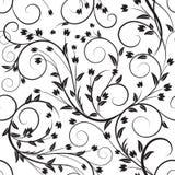 Fondo senza cuciture floreale astratto del grafico di vettore Fotografie Stock