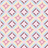 Fondo senza cuciture geometrico astratto del modello, vettore Fotografia Stock