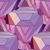 Fondo senza cuciture geometrico 3D Immagini Stock Libere da Diritti