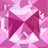 Fondo senza cuciture geometrico 3D Fotografie Stock Libere da Diritti