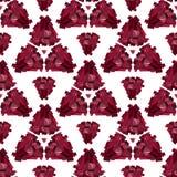 Fondo senza cuciture geometrico 3D Fotografia Stock