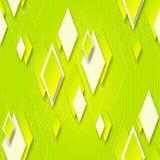 Fondo senza cuciture luminoso con i diamanti geometrici per progettazione Fotografia Stock