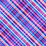 Fondo senza cuciture Modello diagonale astratto geometrico nel poli stile basso di arte del pixel illustrazione vettoriale