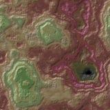 Fondo senza cuciture pietroso del modello dell'agata di marmo - colore marrone marrone rossiccio verde oliva verde di taupe malva illustrazione vettoriale
