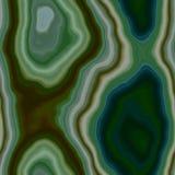 Fondo senza cuciture pietroso del modello dell'agata di marmo - colore verde oliva marrone cachi di verde smeraldo scuro con supe royalty illustrazione gratis