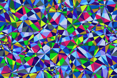 Fondo senza cuciture poligonale multicolore senza cuciture Immagini Stock