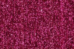 Fondo senza cuciture rosa degli zecchini di luccichio Fotografia Stock Libera da Diritti