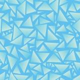 Fondo senza cuciture triangoli Illustrazione di vettore ENV 10 Fotografie Stock Libere da Diritti