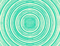 Fondo senza cuciture verde del cerchio Fotografie Stock