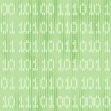 Fondo senza cuciture verde di Digital con i numeri Fotografie Stock