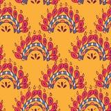 Fondo senza fine Rosso giallo royalty illustrazione gratis