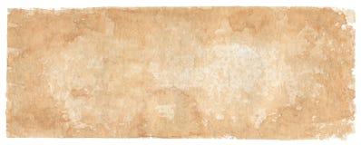 fondo Sepia-coloreado - acuarelas Fotografía de archivo
