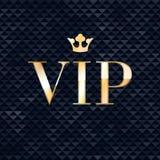 Fondo sfaccettato triangolo dell'estratto di VIP Immagini Stock