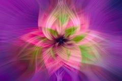 Fondo simétrico del extracto de la flor libre illustration